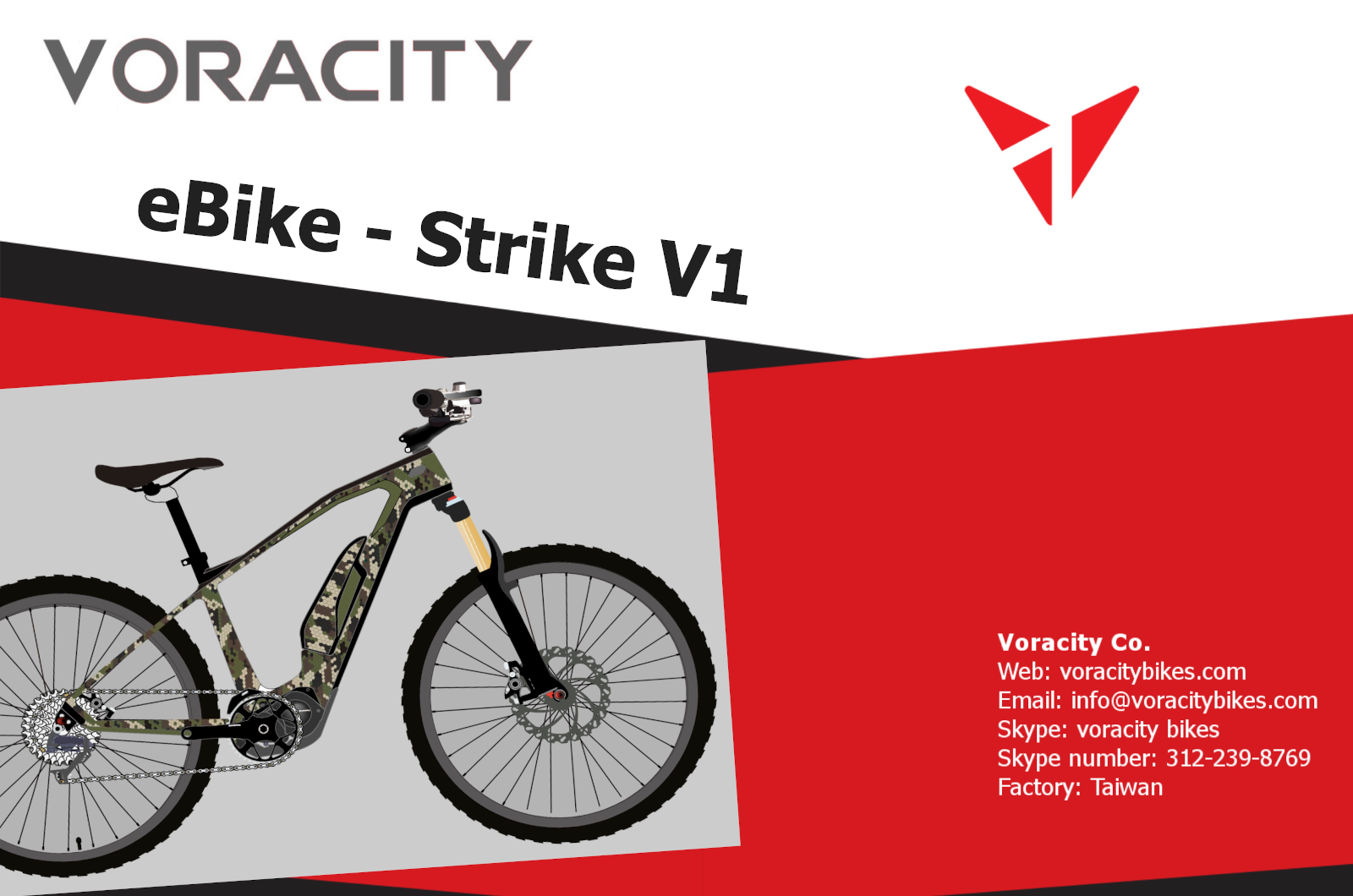 Voracity Strike bike