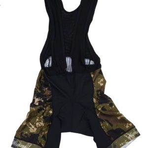 Camo Bib Biking Shorts