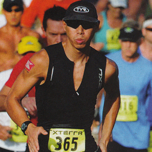 Albert Su at Xterra