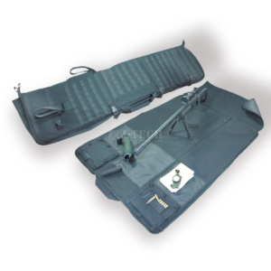 Rifle case carrying bag and matt
