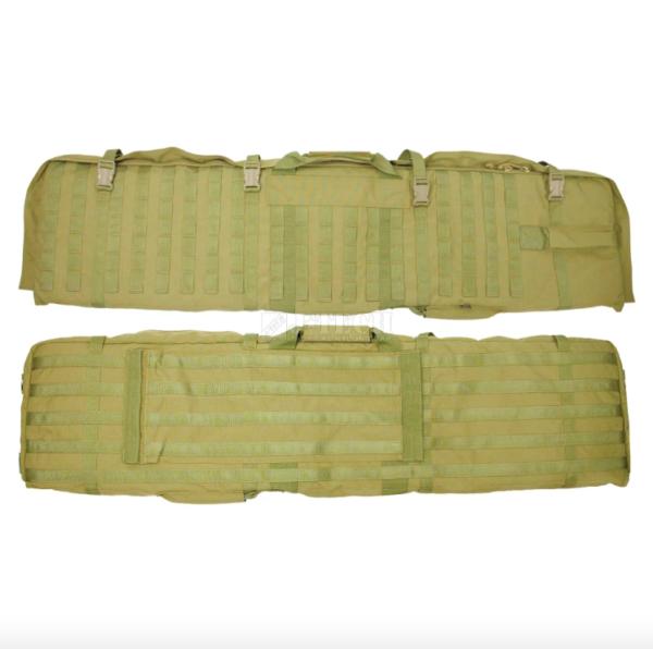 Rifle case carrying bag and matt